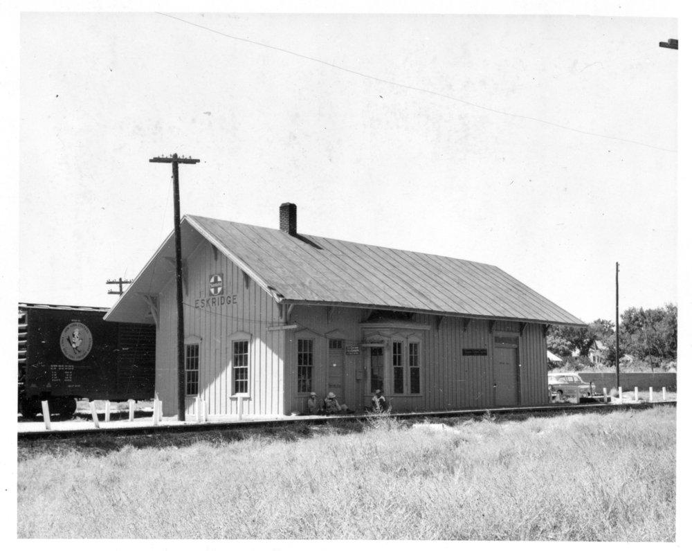 Atchison, Topeka and Santa Fe Railway Company depot, Eskridge, Kansas
