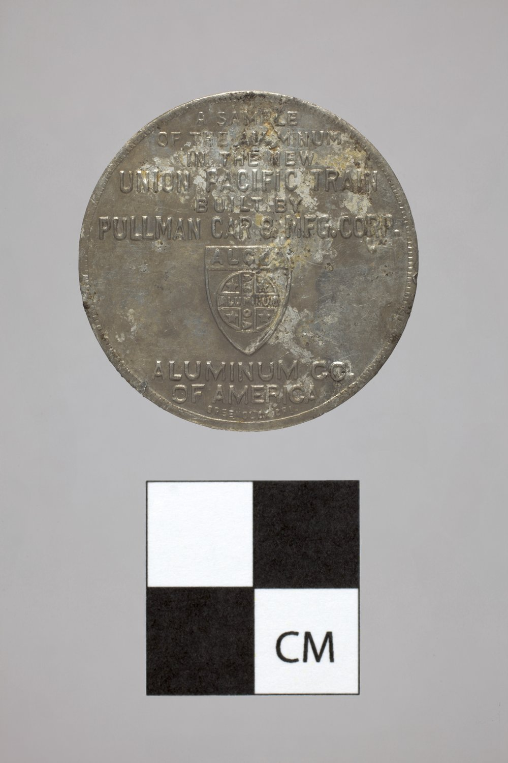 Advertising Token from the Plowboy Site, 14SH372 - 2