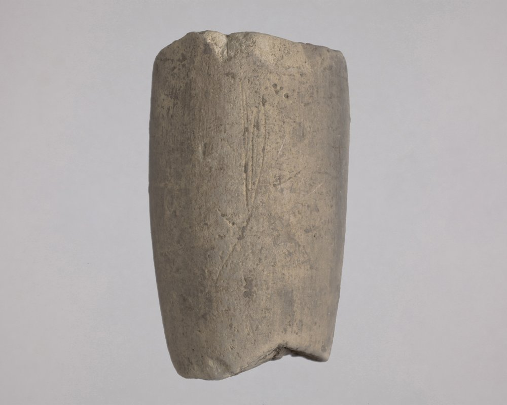 Ceramic Pipe from the Living the Dream Site, 14CO382 - 1