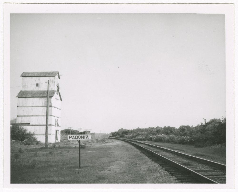 Missouri Pacific Railroad Company's sign board, Padonia, Kansas - 1