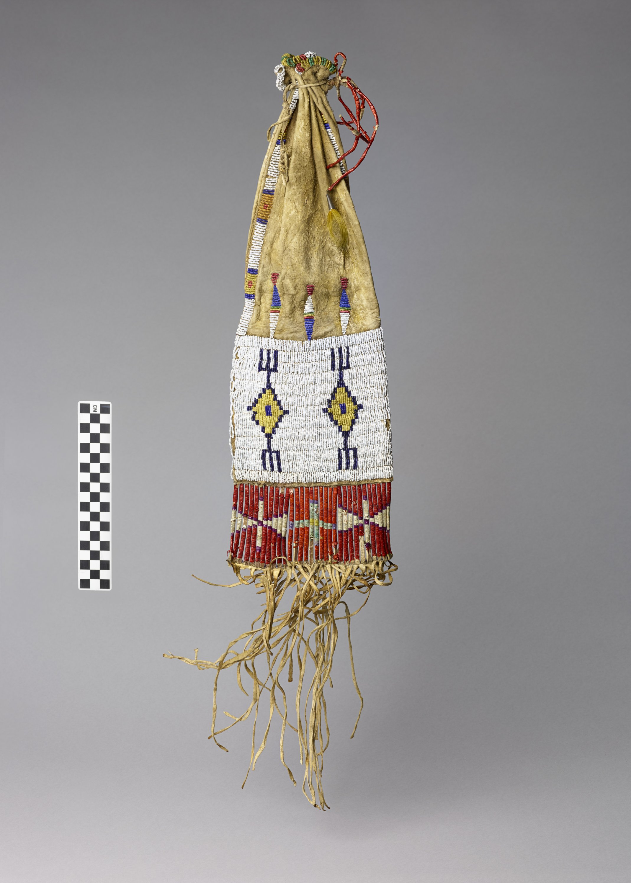 Beaded and Quill Worked Pipe Bag - 3