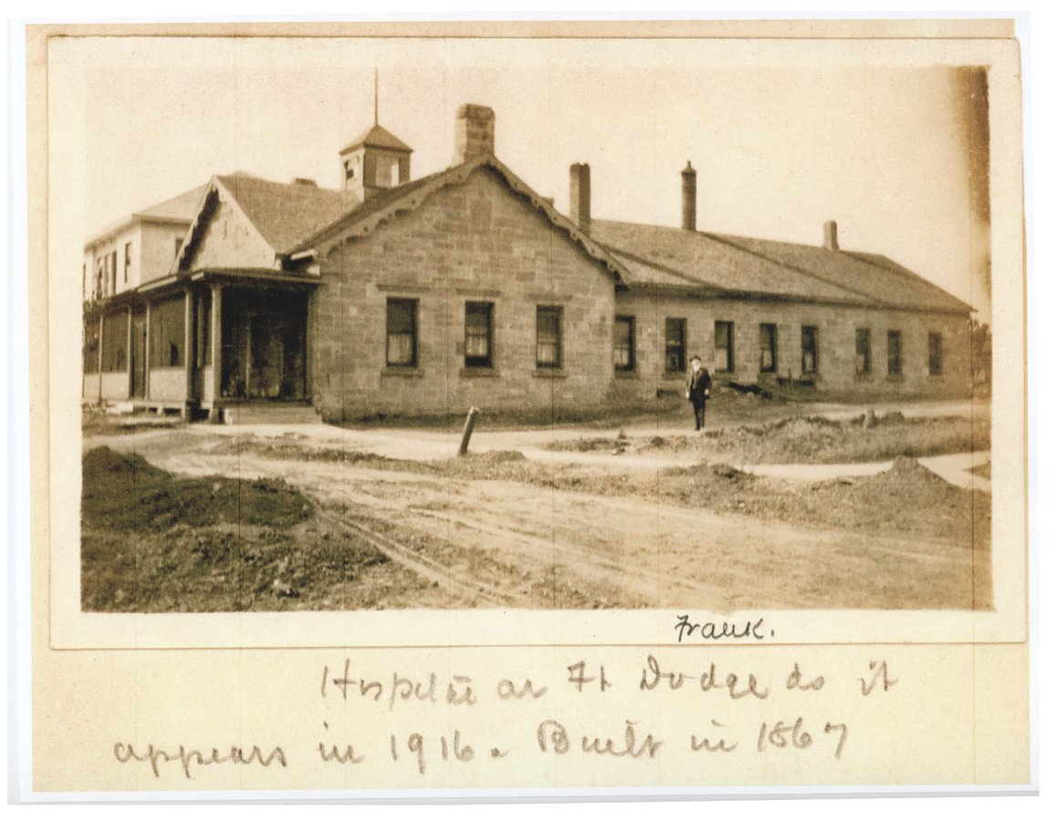 Hospital at Fort Dodge, Kansas