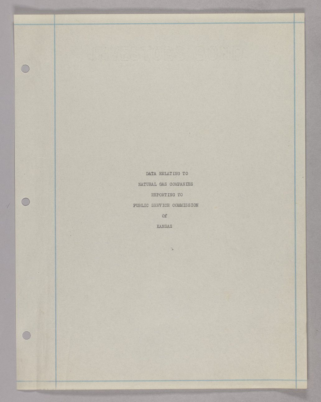 Governor Clyde M. Reed and Henry L. Doherty correspondence - 1