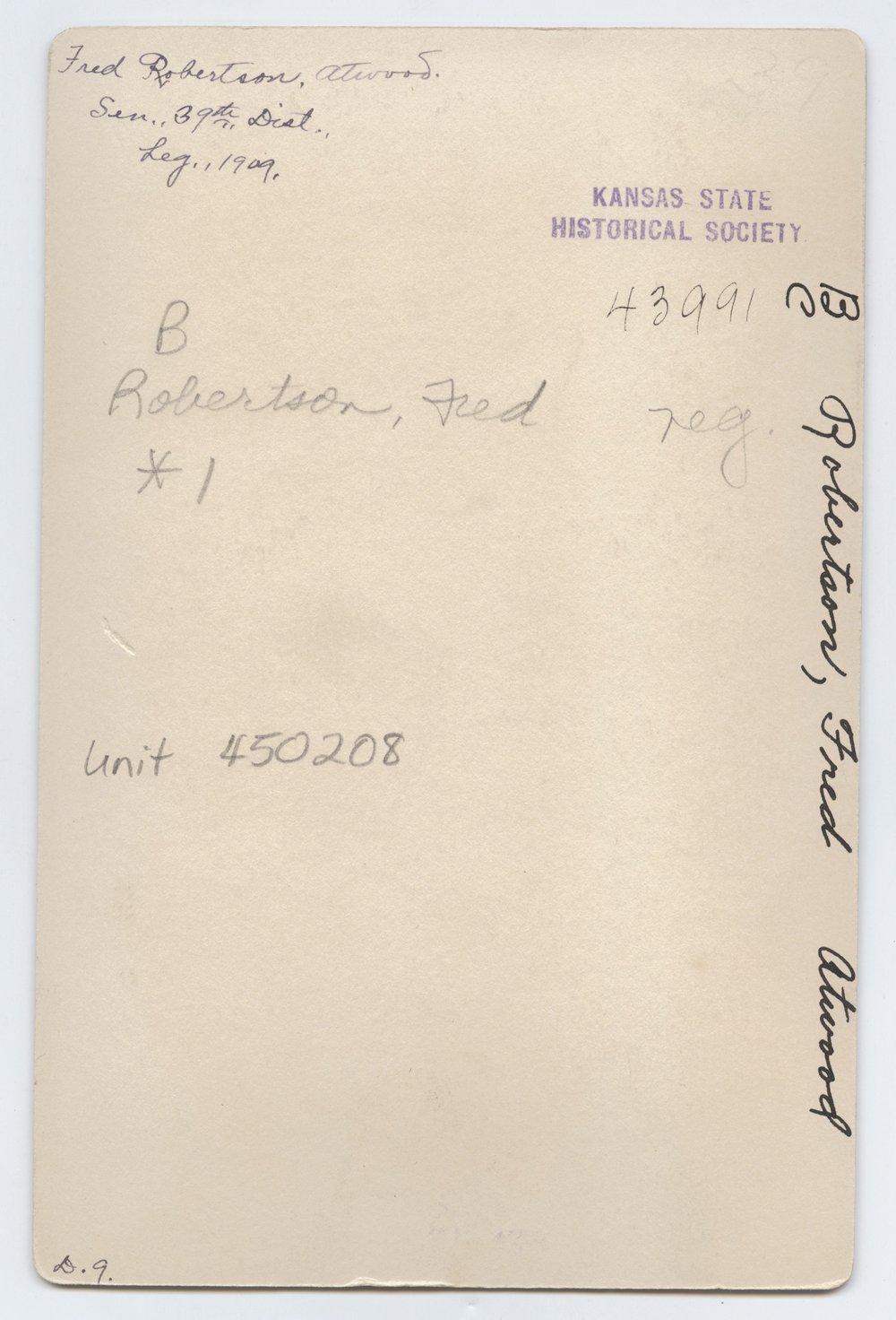 Fred Robertson - 2