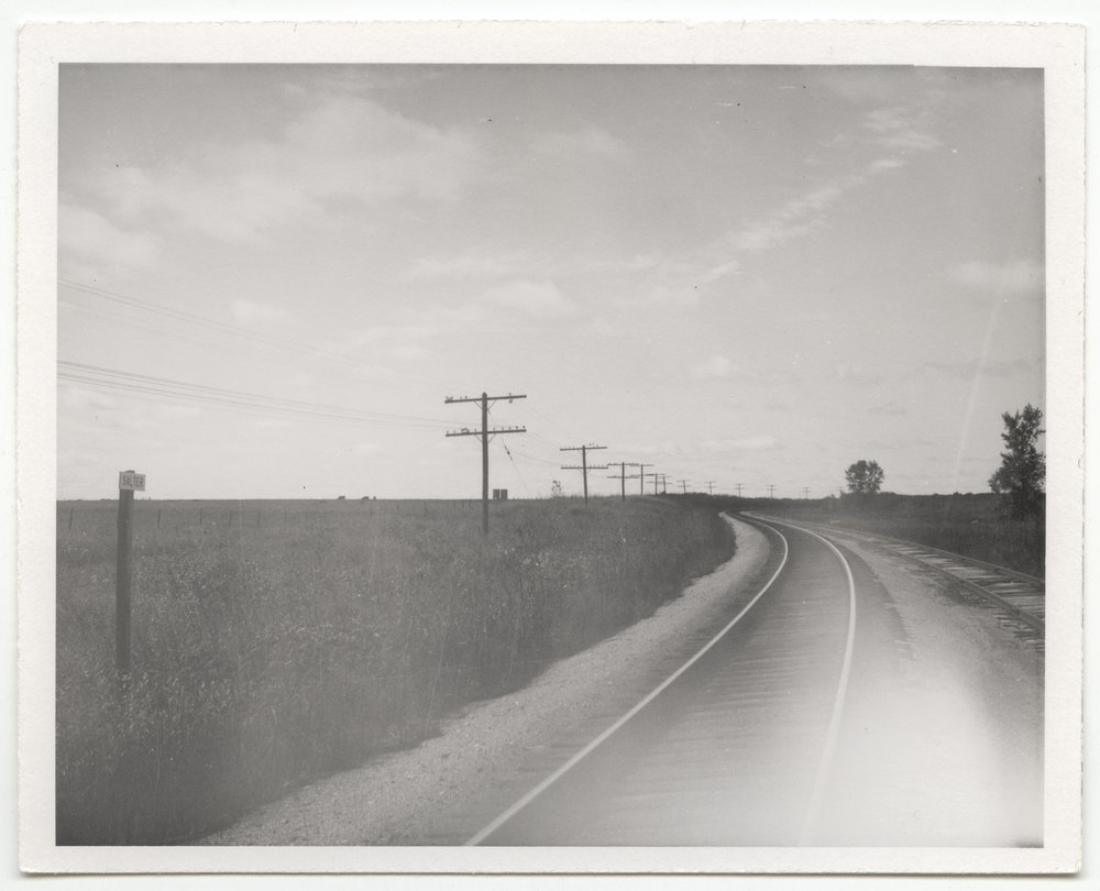 Atchison, Topeka and Santa Fe Railway Company sign board, Salter, Kansas - 1