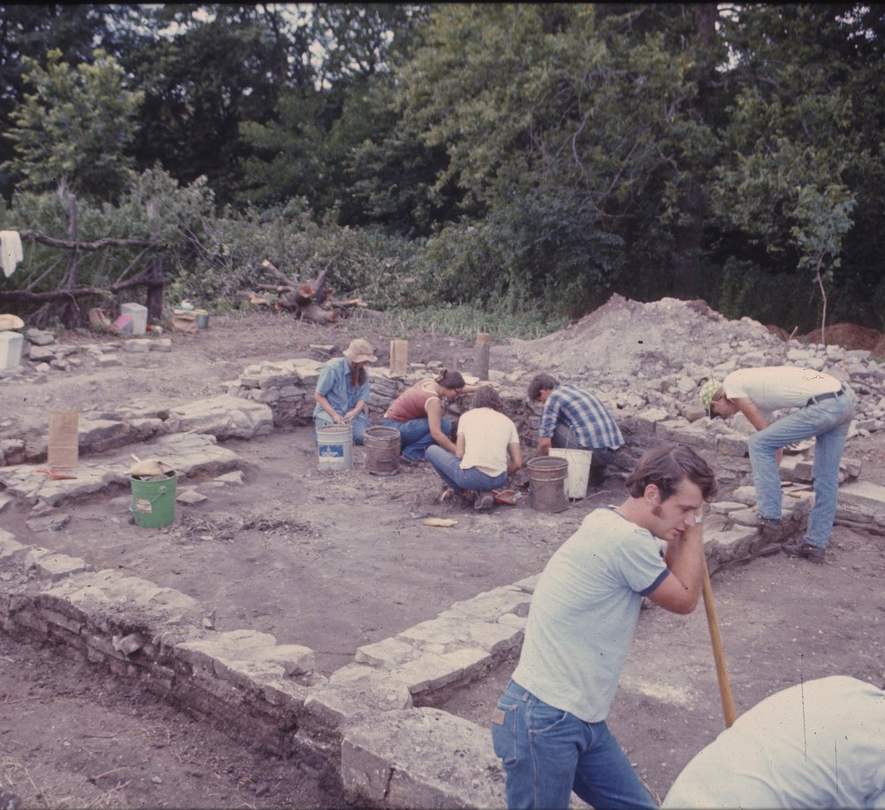Excavations at the Baker House, 14MO701 - 2