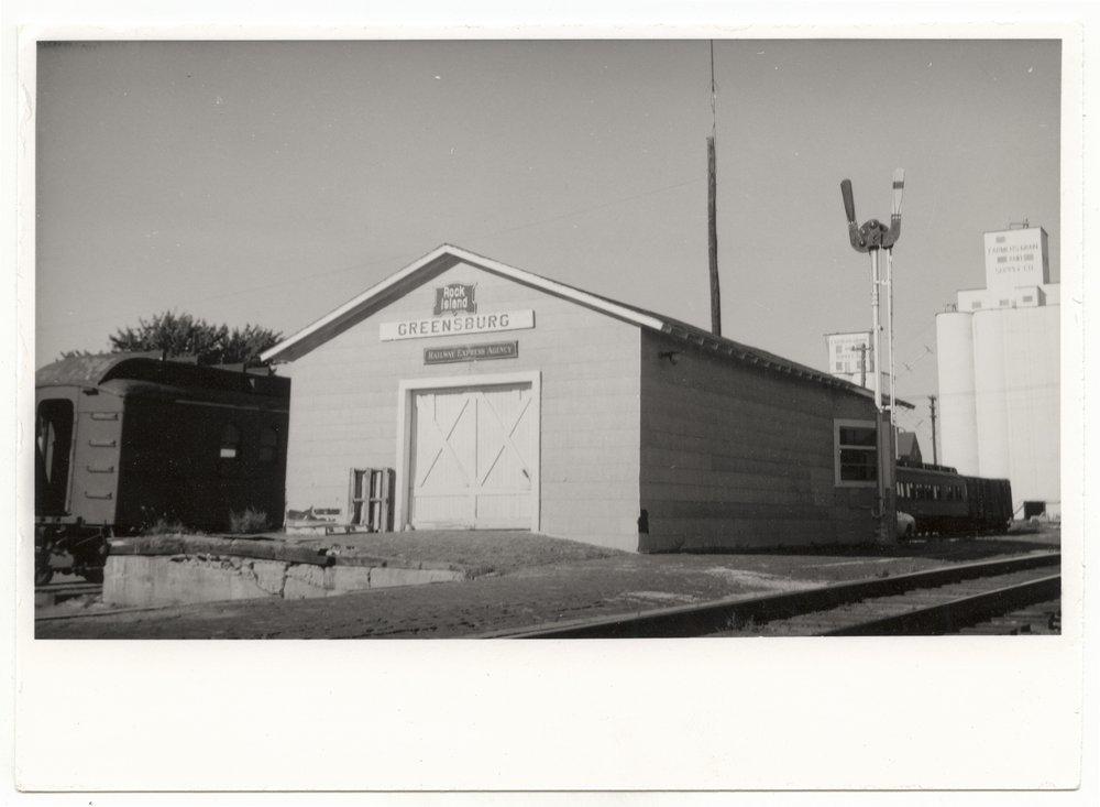 Chicago, Rock Island & Pacific Railroad depot, Greensburg, Kansas - 1