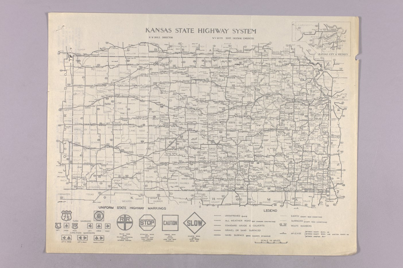 Governor Clyde M. Reed correspondence, Highway Department - 8