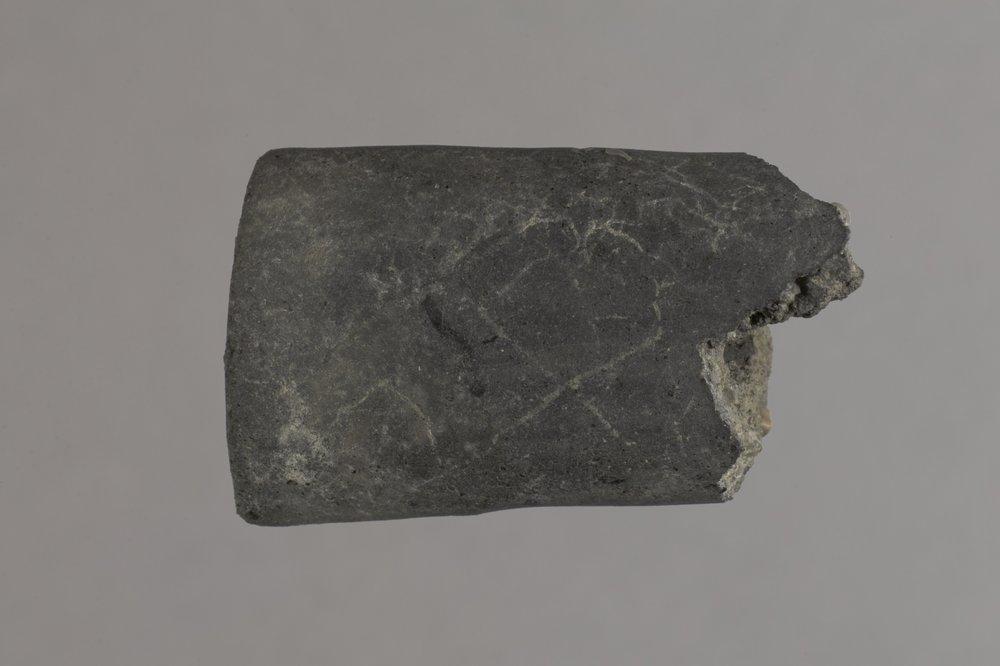 Ceramic Pipe Fragment from El Cuartelejo, 14SC1 - 1