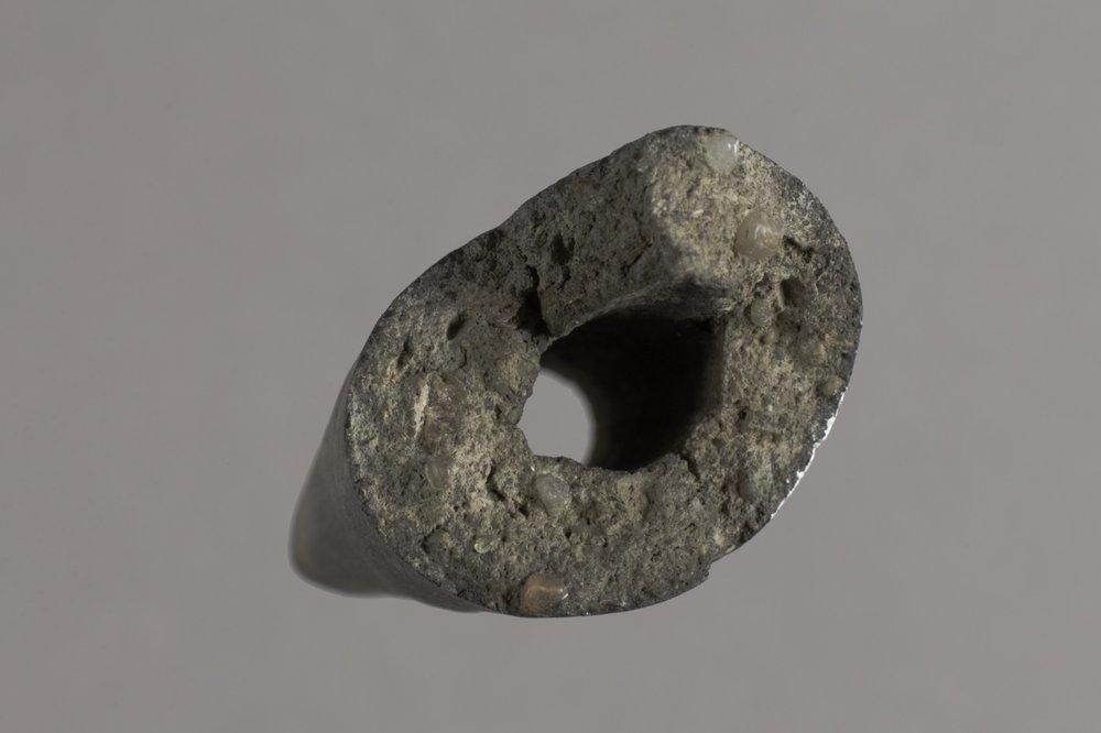 Ceramic Pipe Fragment from El Cuartelejo, 14SC1 - 3