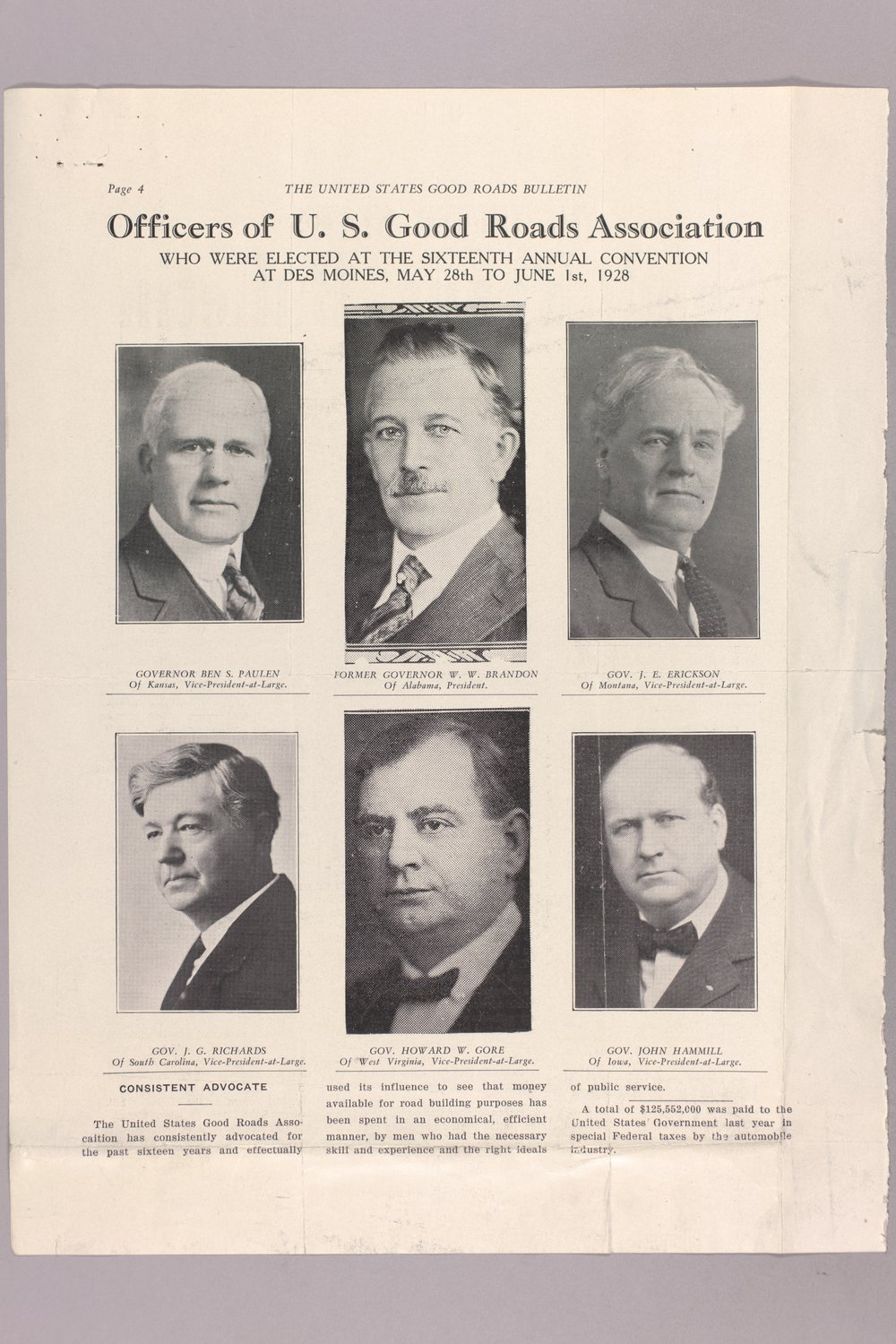 Governor Clyde M. Reed correspondence, honorary appointments - 8