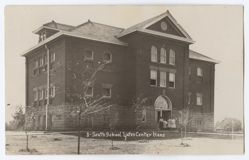 South School in Yates Center, Woodson County, Kansas - 1