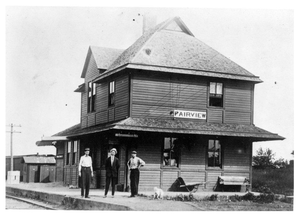 Chicago, Rock Island & Pacific Railroad depot, Fairview, Kansas