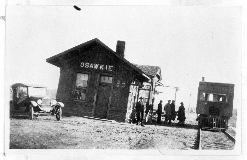 Depot in Osawkie, Kansas - 2