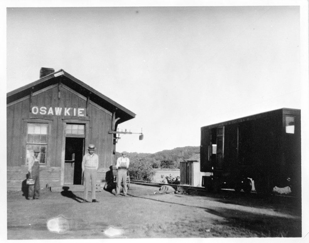 Depot in Osawkie, Kansas - 3
