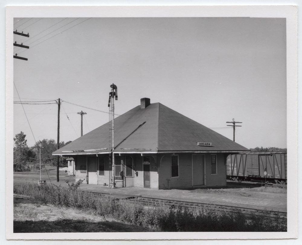 St. Louis-San Francisco Railway depot, Arcadia, Kansas - 1