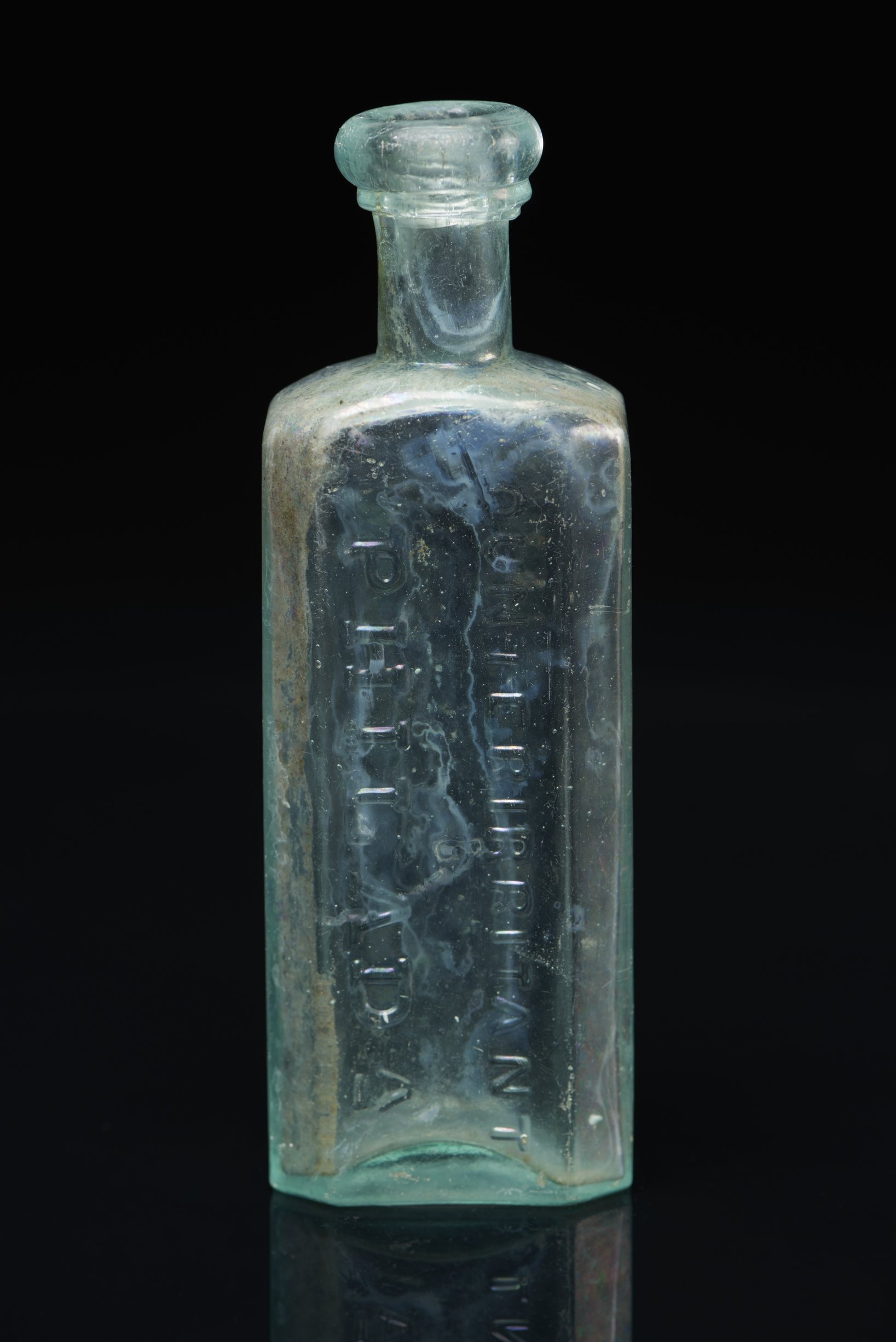 Dr. D. Jayne Liniment or Counterirritant Bottle from the Iowa and Sac and Fox Mission, 14DP384 - 1