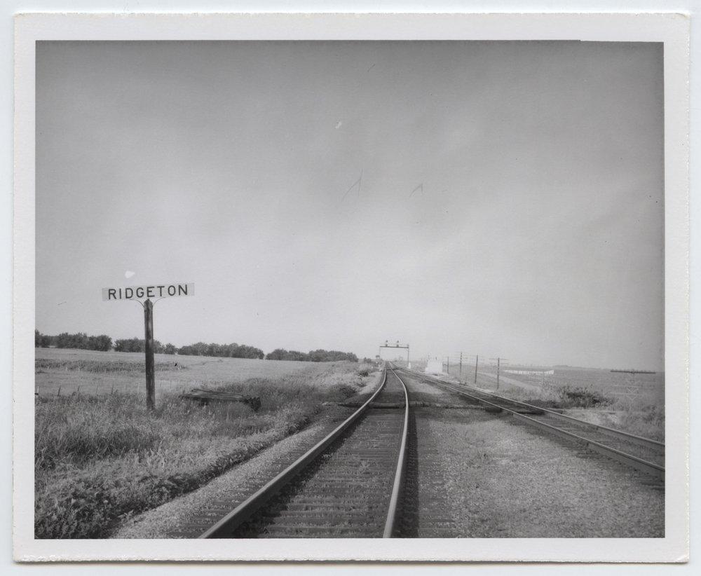 Atchison, Topeka and Santa Fe Railway Company box depot, Ridgeton, Kansas - 3