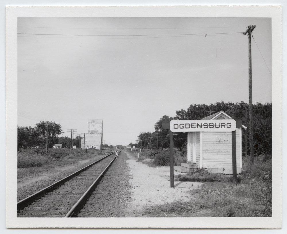 Union Pacific Railroad Company's box depot, Ogdensburg, Kansas - 1