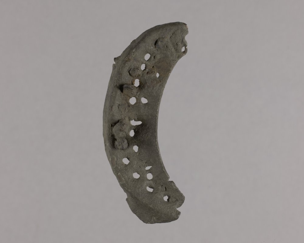 Heel Plate from the Kaw Mission, 14MO368 - 1