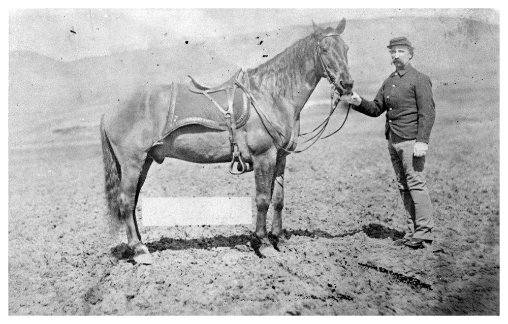 Cavalry trooper, Fort Hays, Kansas