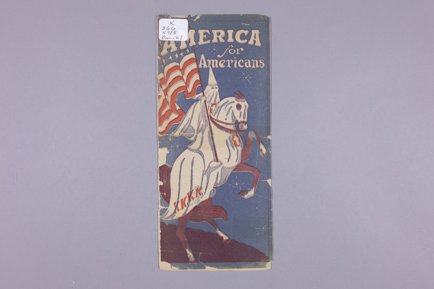America for Americans - 1