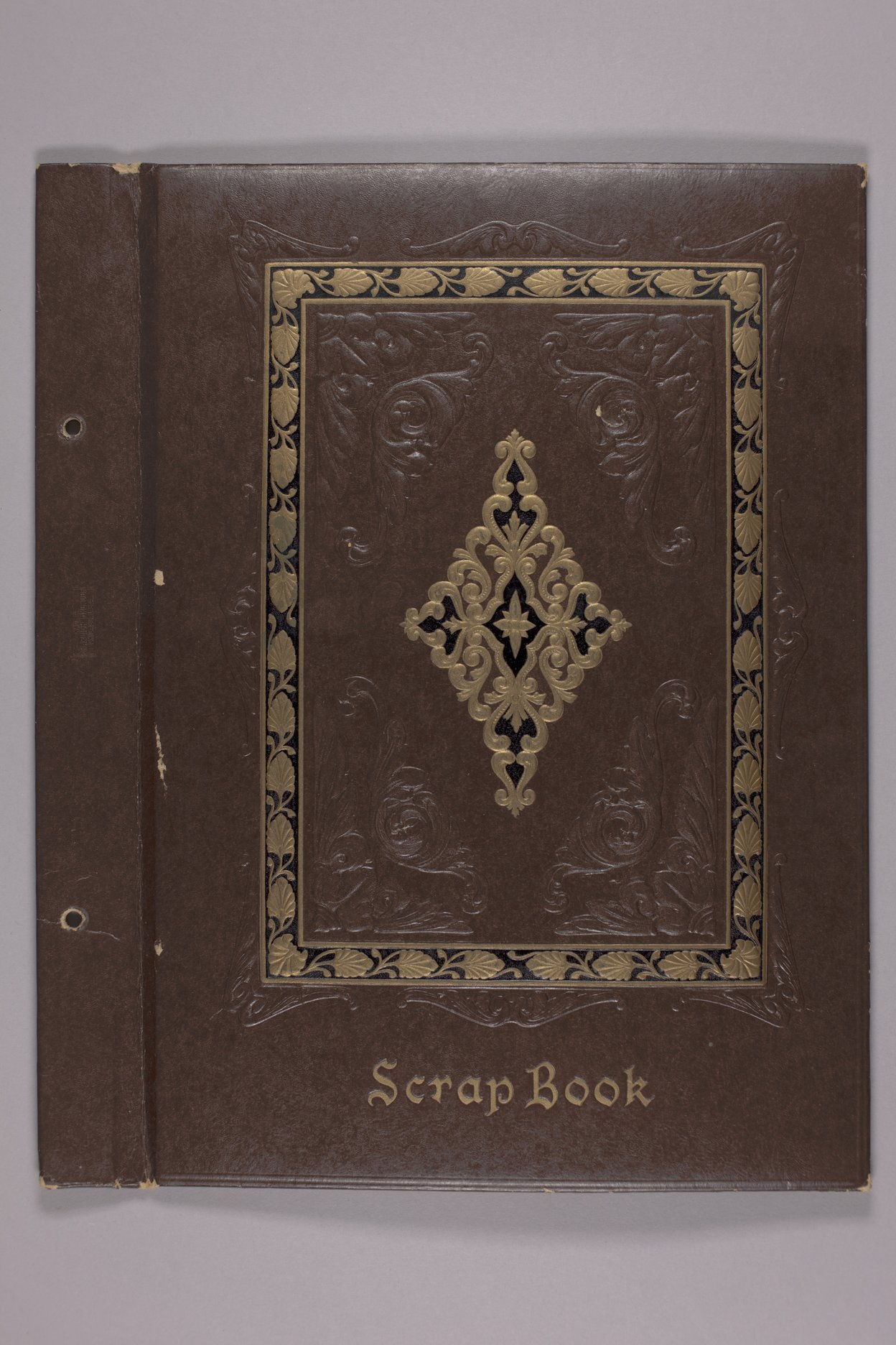 Goddard Woman's Club scapbook - Front cover