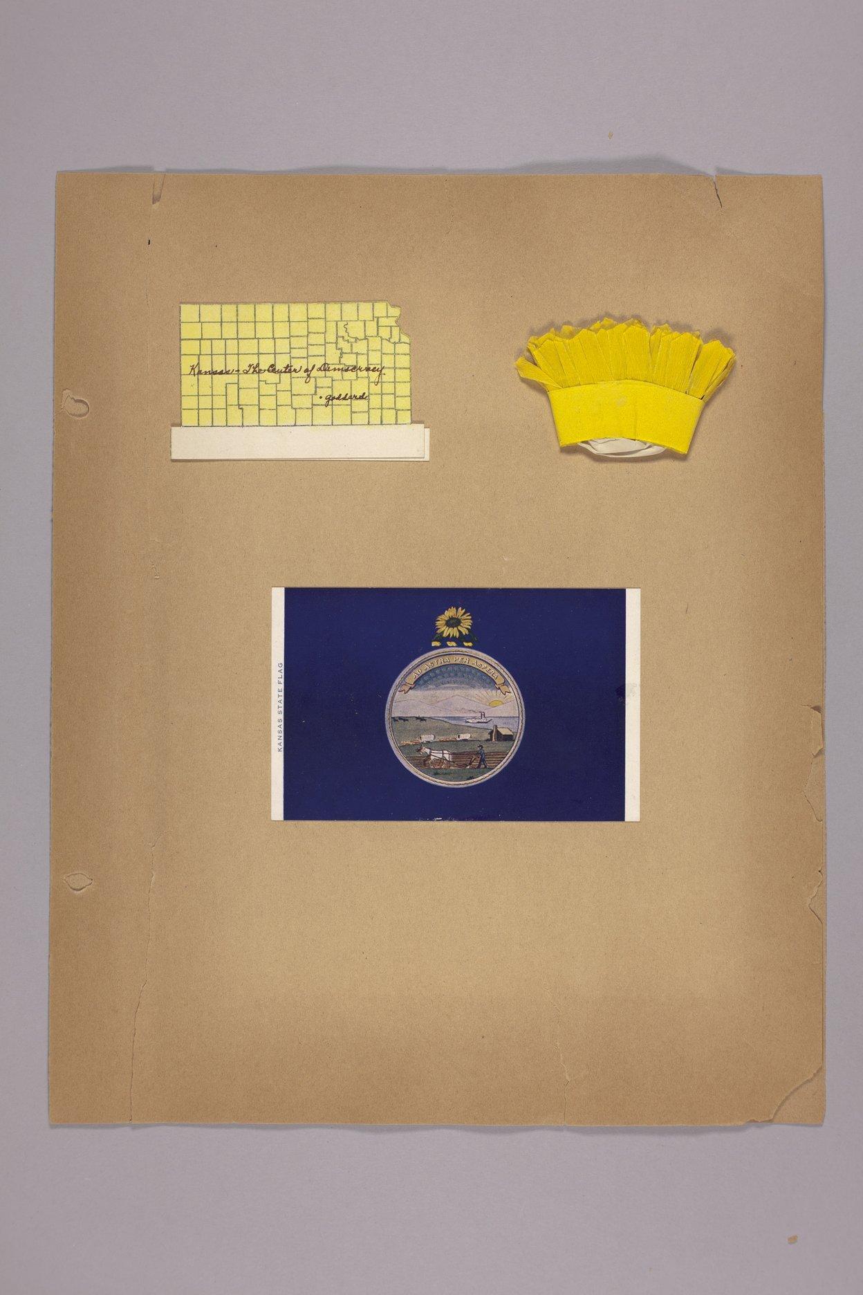 Goddard Woman's Club scapbook - Club Souveniors