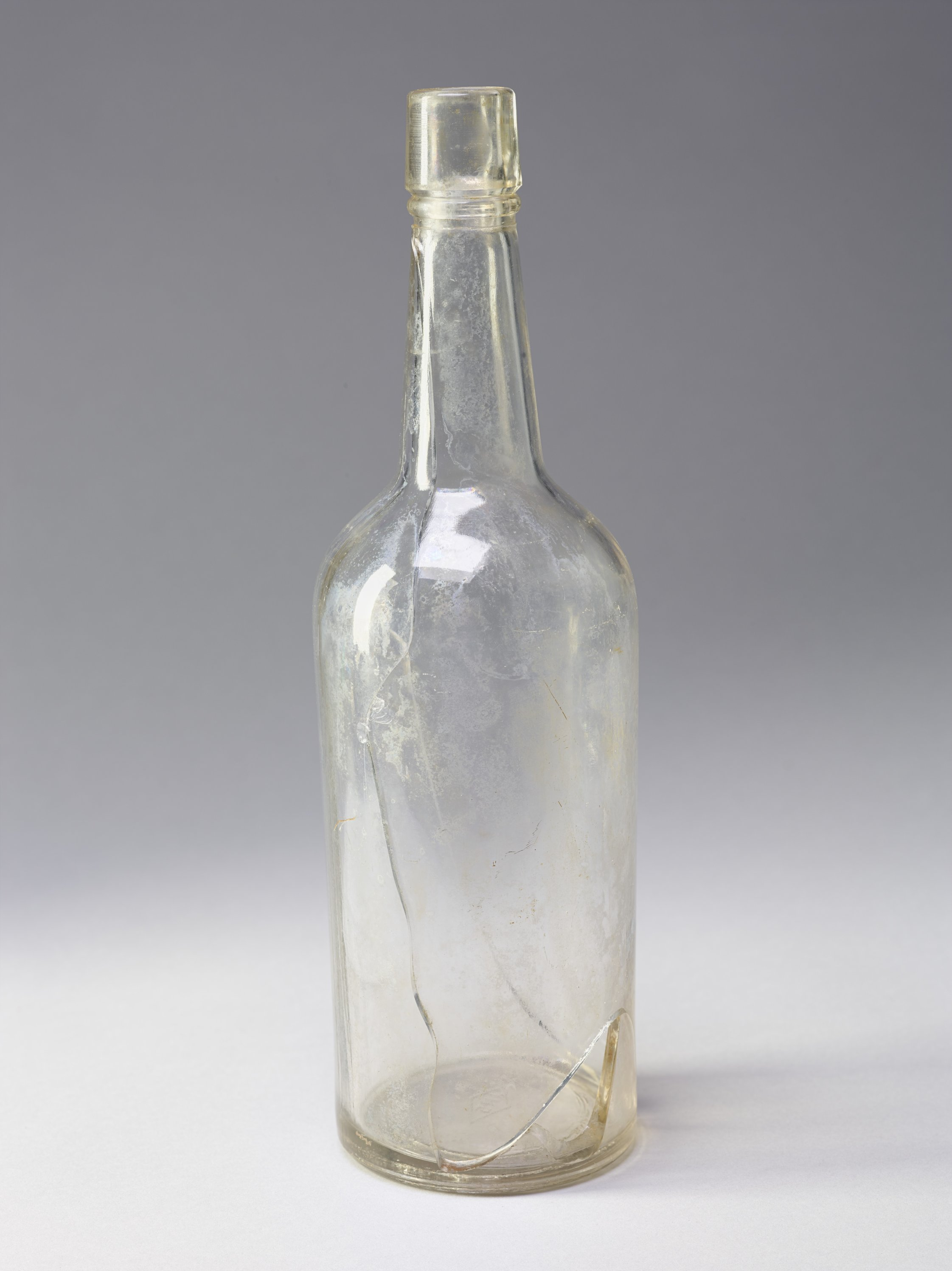 Liquor Bottle from the Adair Cabin Site, 14MM327 - 1