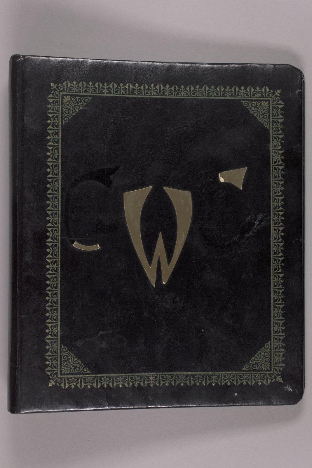 Goddard Woman's Club pressbook - Front cover