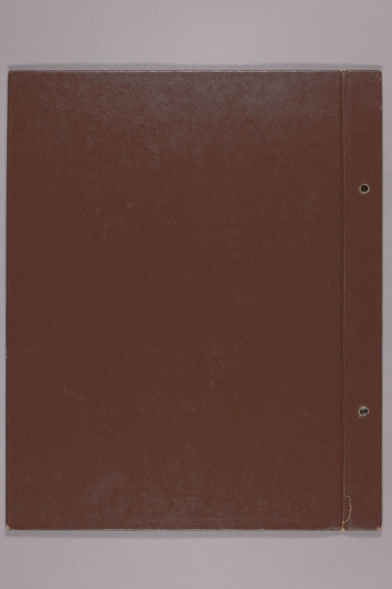 Goddard Woman's Club scapbook - Back cover