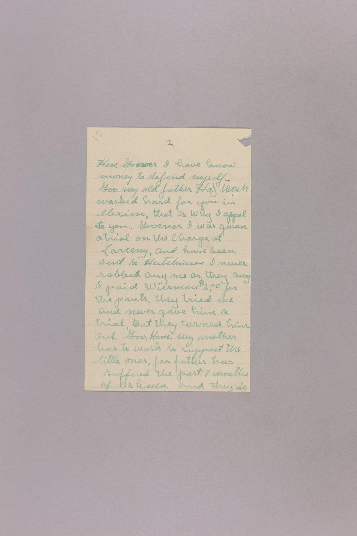 Appeal for Pardon - Harry E. Monk - 2