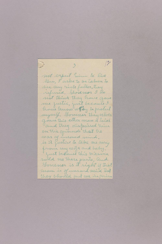 Appeal for Pardon - Harry E. Monk - 3
