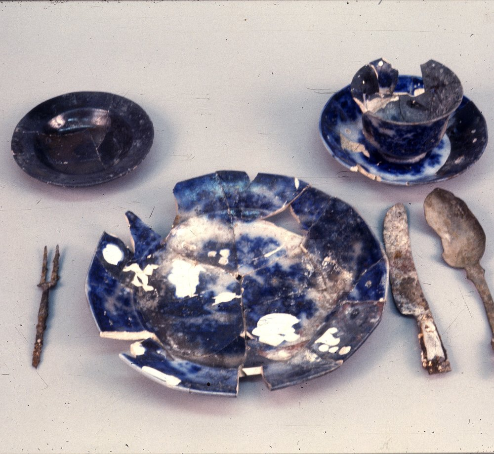 Artifacts from the Excavations at the Baker House, 14MO701 - 1