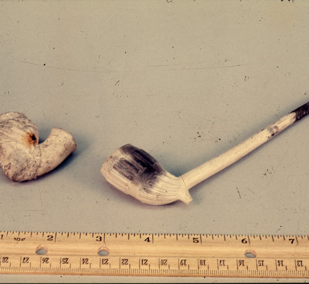 Artifacts from the Excavations at the Baker House, 14MO701 - 2