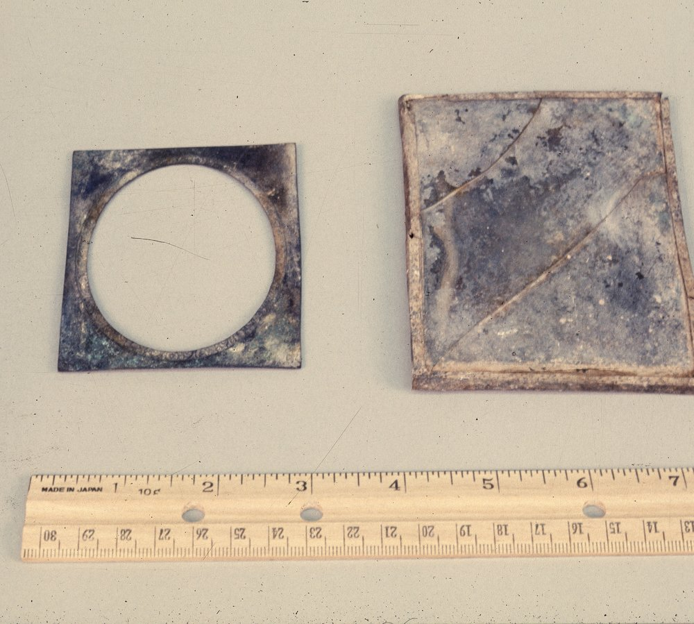 Artifacts from the Excavations at the Baker House, 14MO701 - 3