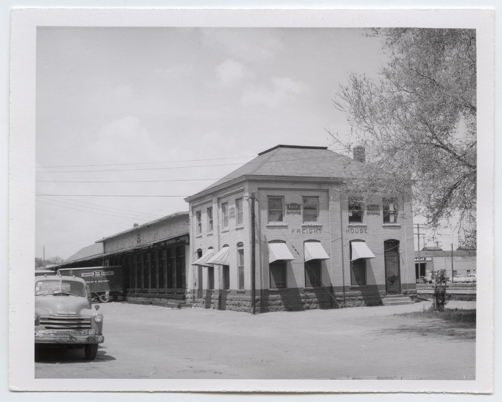 Chicago, Rock Island and Pacific Railroad freight house, Topeka, Kansas - 1
