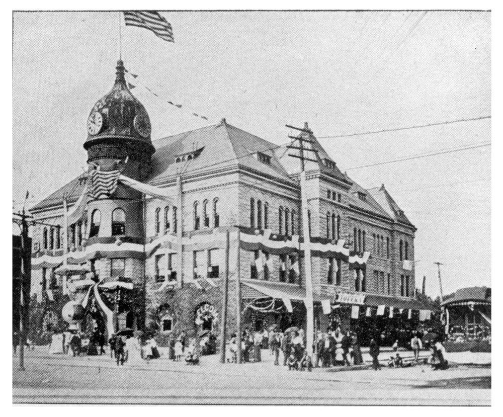 Chicago, Rock Island and Pacific Railroad depot, Topeka, Kansas - 1