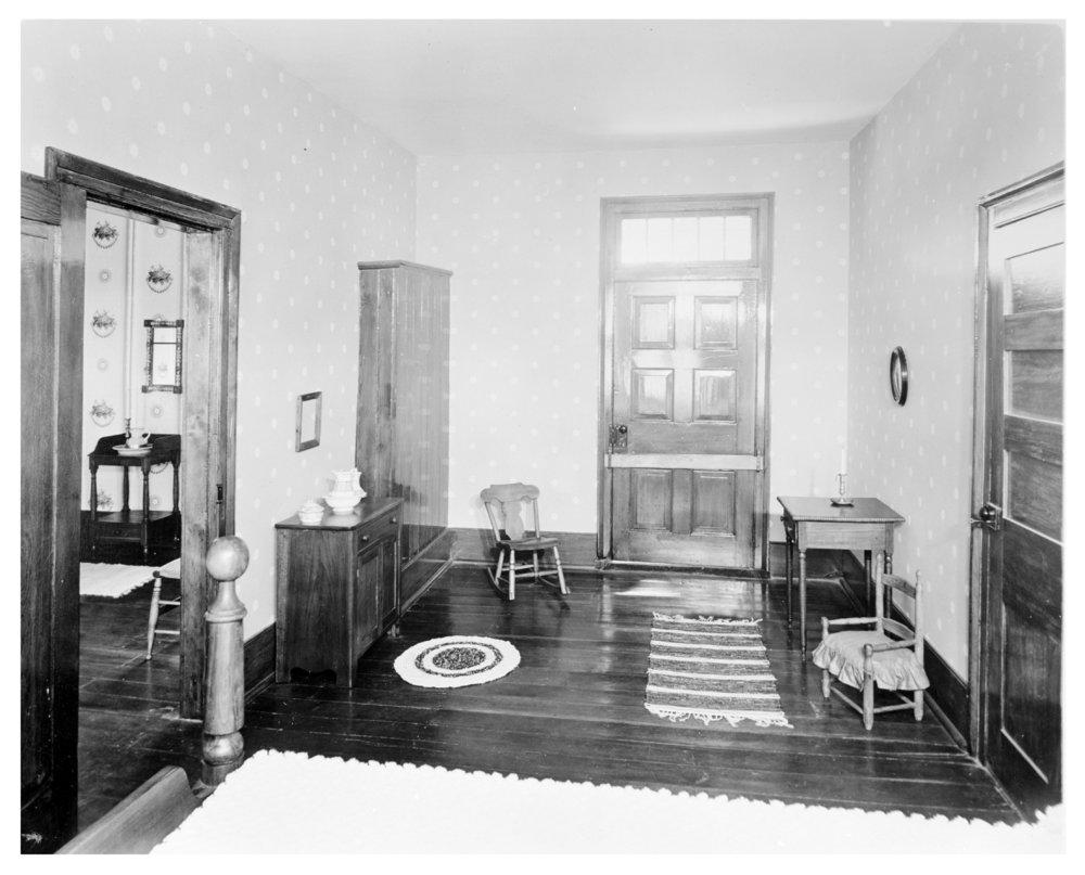 Bedroom for Johnson children, Shawnee Indian Mission