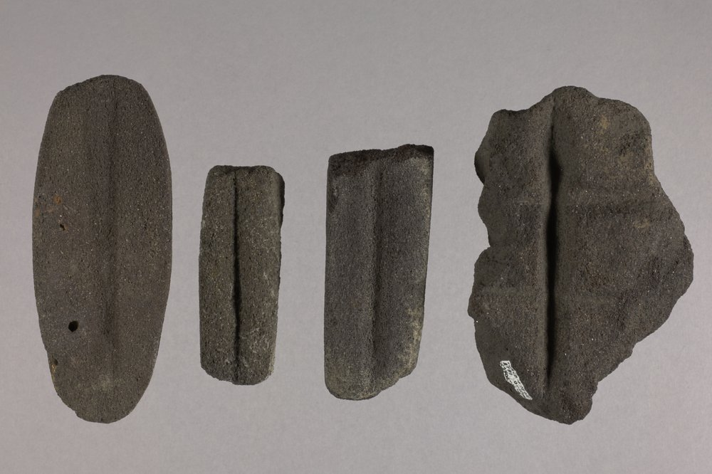 Abraders from the Tobias Site, 14RC8 - 1