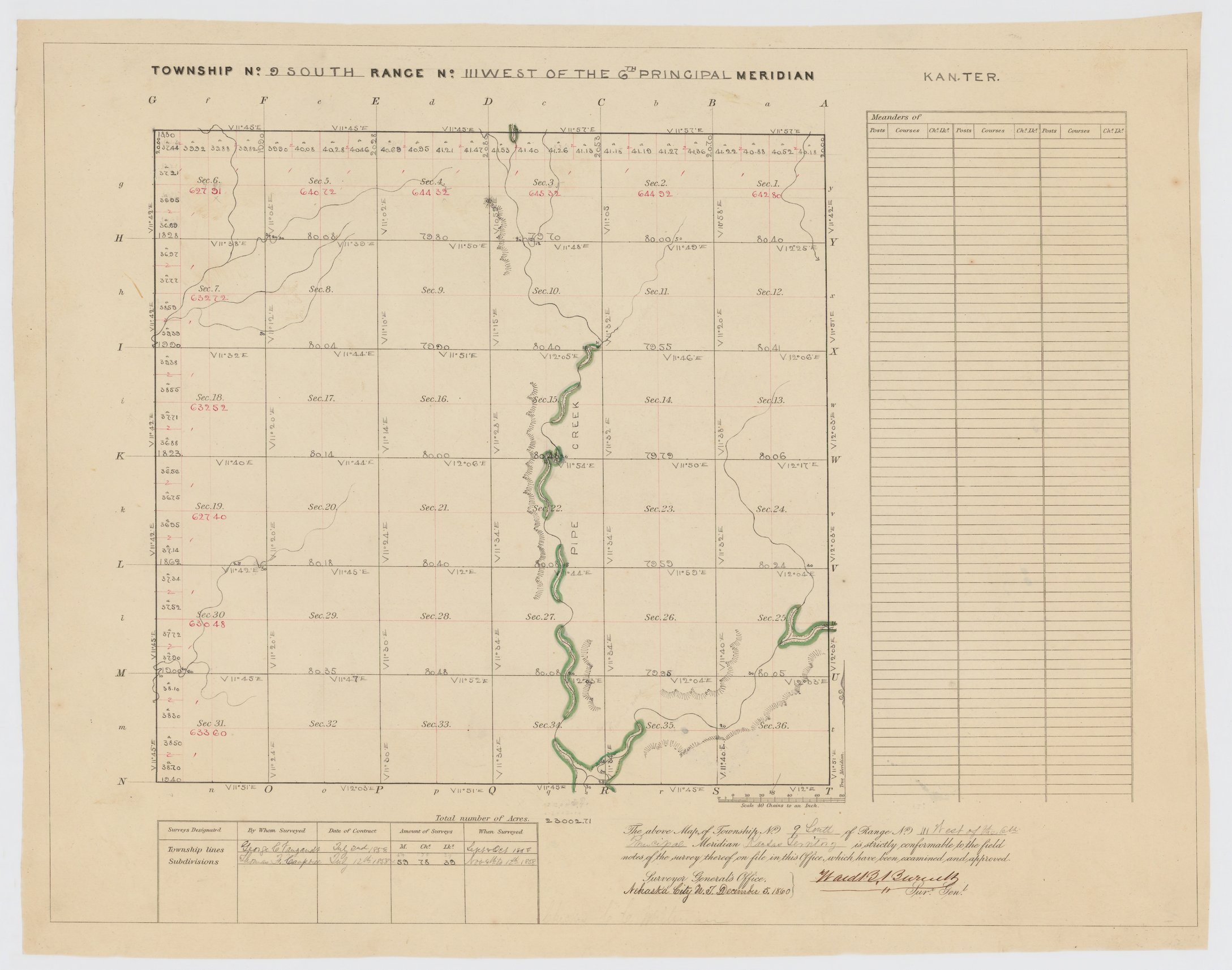 Land Survey Plats and Tract Books, Township 9 South, Range 111 West