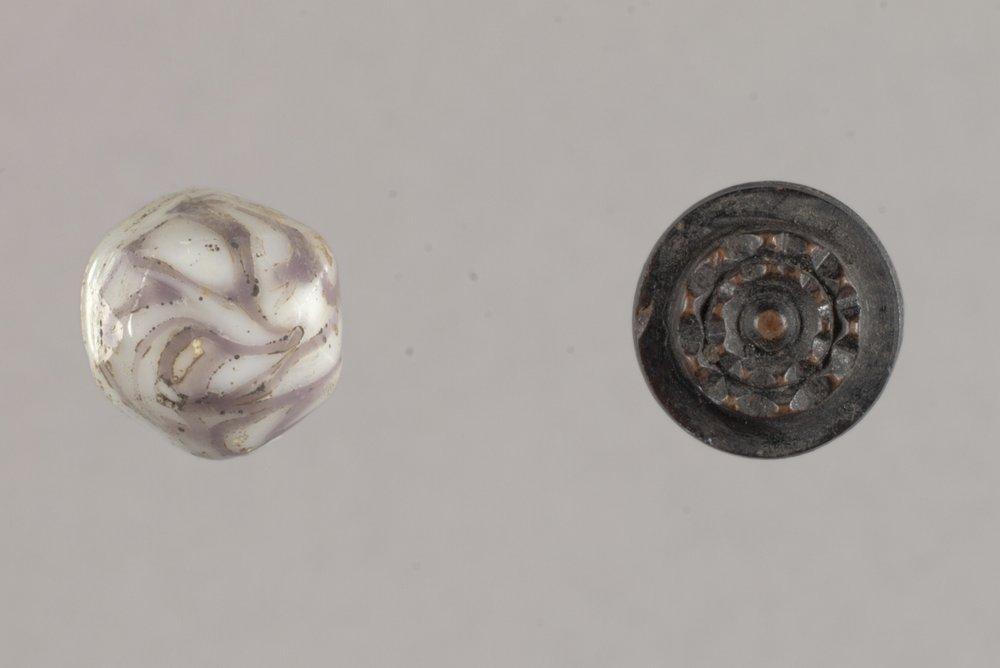 Buttons from Fort Zarah, 14BT301 - 1