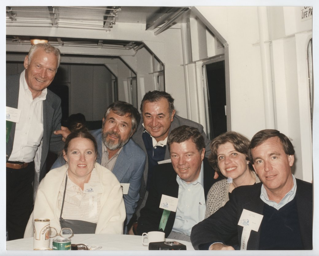 John Carlin, Ann Carlin Ozegovic, and Jack Ozegovic with others - 1