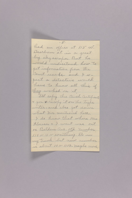 Bonner Springs adoption, correspondence - 5