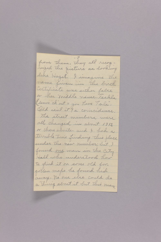 Bonner Springs adoption, correspondence - 7
