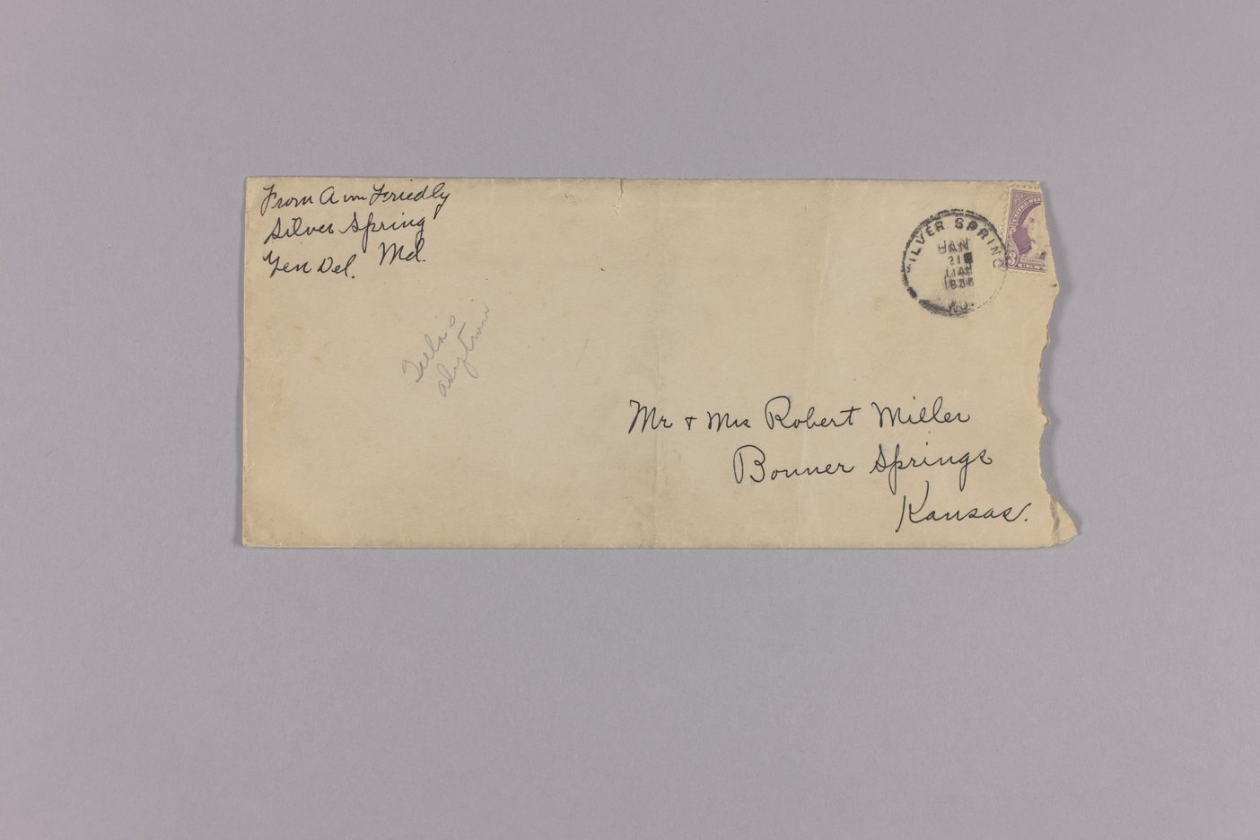 Bonner Springs adoption, correspondence - 11