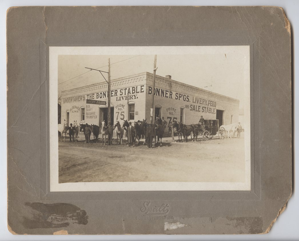 Bonner Springs Livery Stable - 1