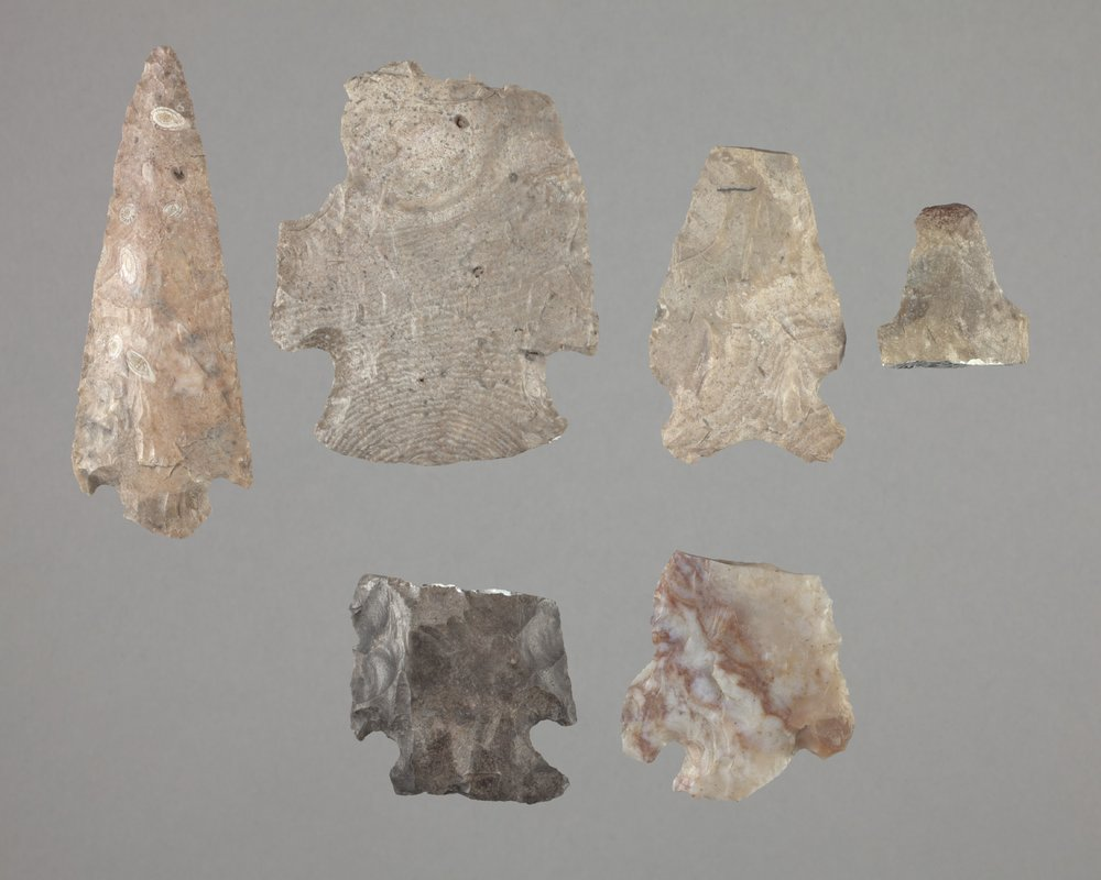 Projectile Points from 14SR311 - 1