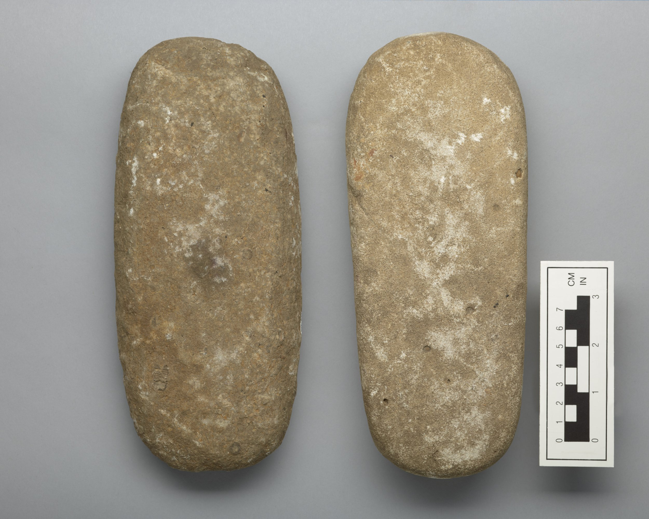 Manos from the Neodesha Fort Site, 14WN1 - 3