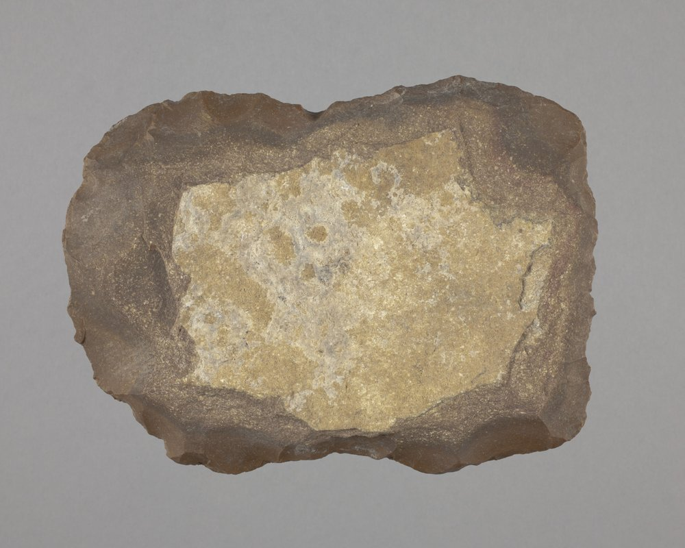 Biface from the Tobias Site, 14RC8 - 1